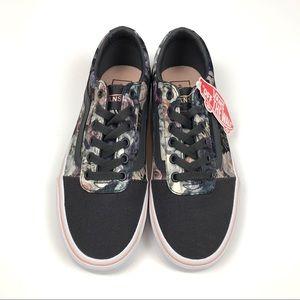 160db28e88b Vans Shoes - NEW Vans Ward Satin Floral Rose Cloud Size 7.5